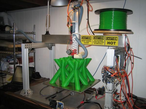 Massive RepRap DIY 3D Printer | Hack N Mod