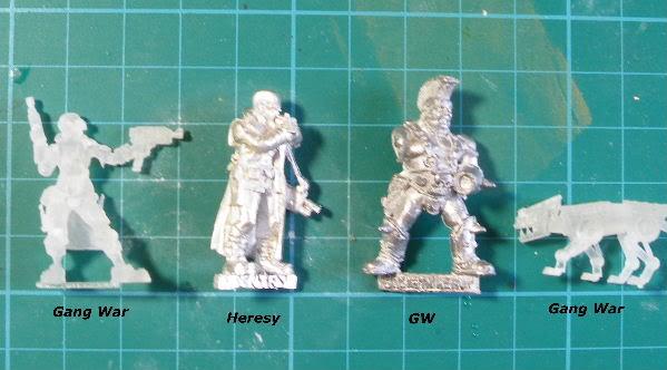 Gang War Miniatures on Shapeways?